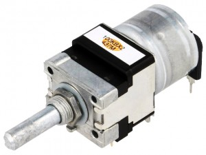 Alps Potentiometer 2x100k Ohm Motor-driven