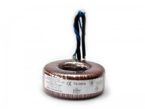 TTS0080 - Transformer TS80VA/230 - voltage  to 50 V