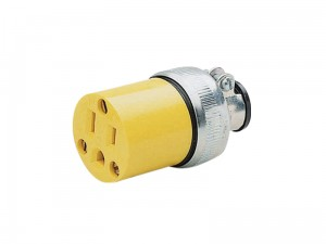 Cable mount 110V USA socket