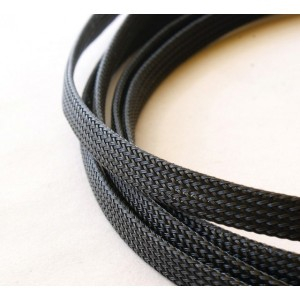 Black PVC braid for Lapp Olflex cables